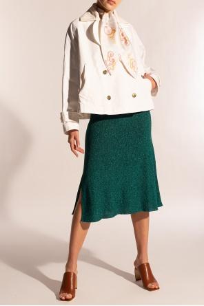 Oversize denim jacket od Lanvin