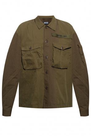 Jacket with logo od Diesel
