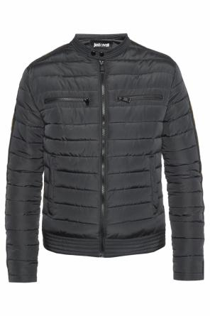 Band collar quilted jacket od Just Cavalli