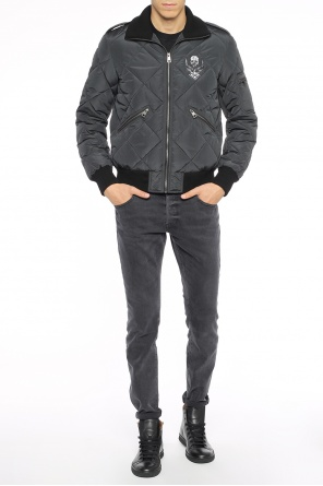 Embroidered quilted jacket od Just Cavalli