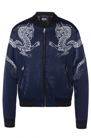 Embroidered bomber jacket od Just Cavalli