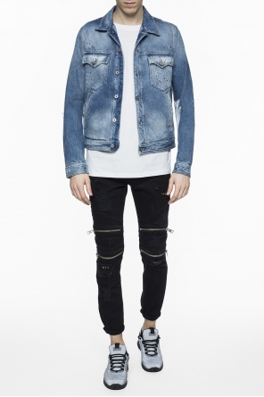 Printed denim jacket od Just Cavalli