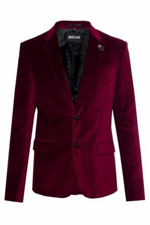 Velour blazer od Just Cavalli