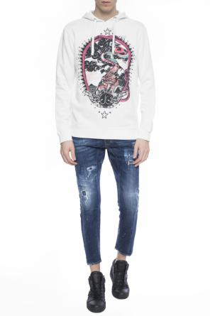 Colourful-printed sweatshirt od Just Cavalli