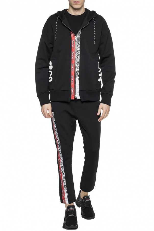Patched & printed sweatshirt od Just Cavalli
