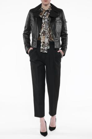 Leather biker jacket od Just Cavalli