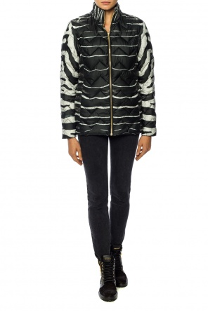 Printed quilted jacket od Just Cavalli