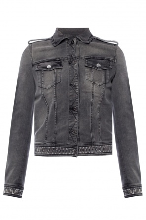 Studded denim jacket od Just Cavalli