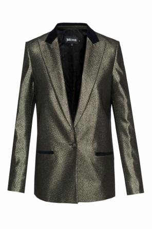 Lurex-trim blazer od Just Cavalli