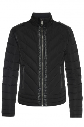 Quilted down jacket od Just Cavalli