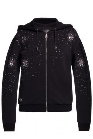 Embellished hoodie od Philipp Plein