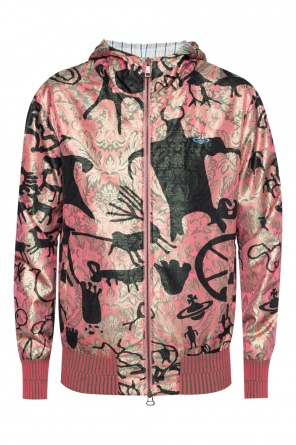 Hooded patterned sweatshirt od Vivienne Westwood
