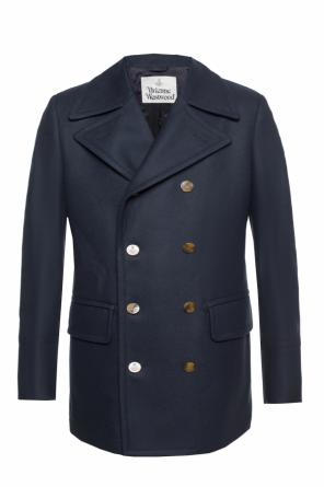 Double-breasted coat with vent od Vivienne Westwood