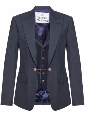 Blazer with decorative closure od Vivienne Westwood