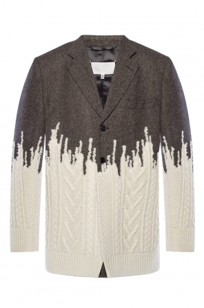 Sweater-effect blazer od Maison Margiela
