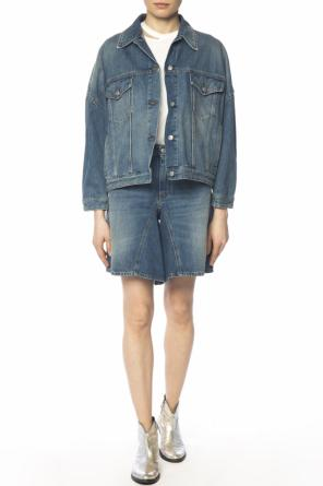 Distressed denim jacket od MM6 Maison Margiela