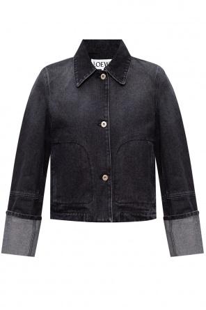 品牌牛仔夹克 od Loewe