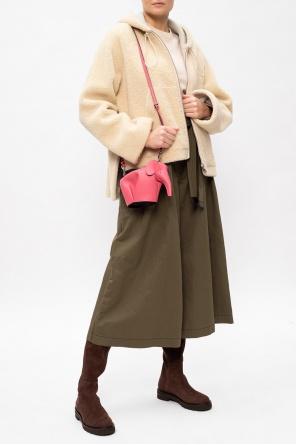 毛皮连帽夹克 od Loewe