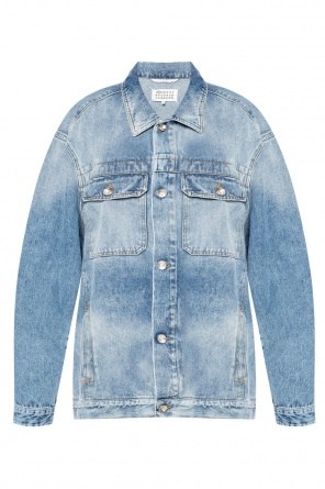 Stonewashed denim jacket od Maison Margiela