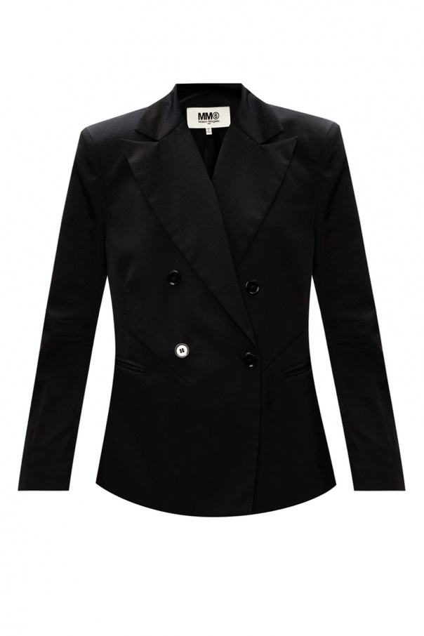 MM6 Maison Margiela Double-breasted blazer