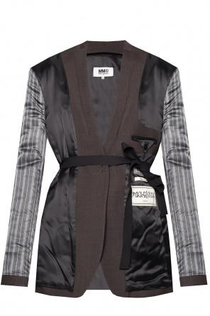 Blazer with belted waist od MM6 Maison Margiela