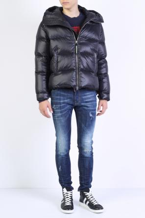 Quilted hooded jacket od Dsquared2