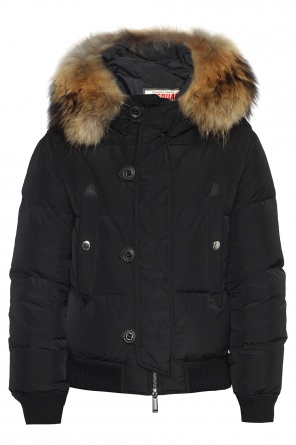 Jacket with detachable hood od Dsquared2