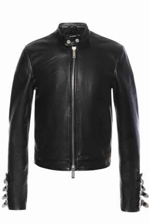 Leather jacket od Dsquared2
