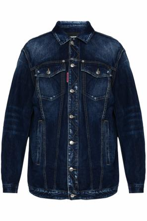 Long denim jacket od Dsquared2