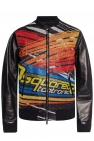 Leather bomber jacket od Dsquared2