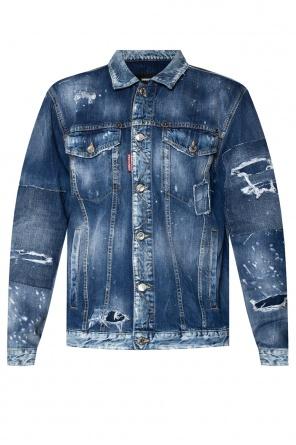'over jean' denim jacket od Dsquared2