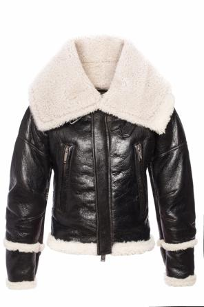 Jacket with a fur finish od Dsquared2