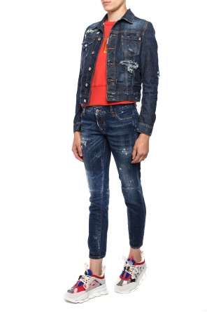 Stonewashed denim jacket od Dsquared2