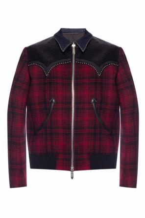 Patterned jacket with decorative elements od Dsquared2