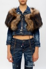 Dsquared2 Jacket with faux fur collar