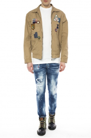 Patched jacket od Dsquared2