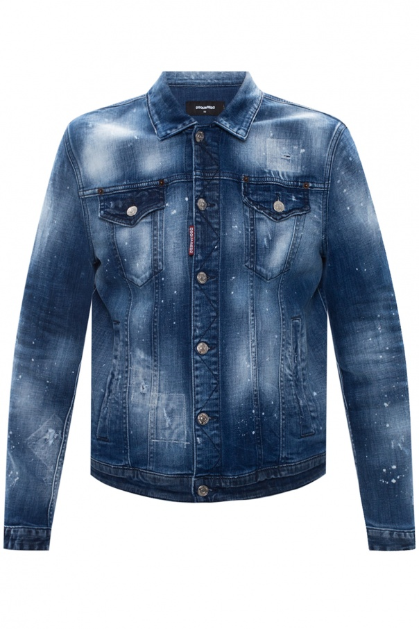 Dsquared2 Denim jacket with logo