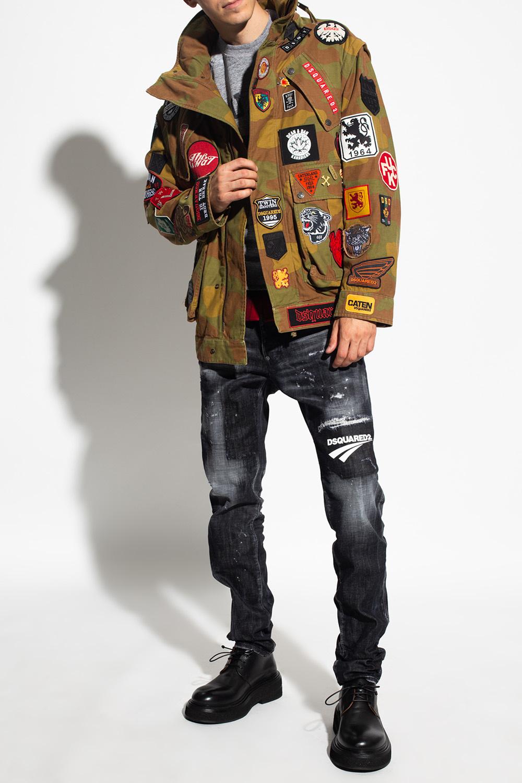 Dsquared2 Camo jacket