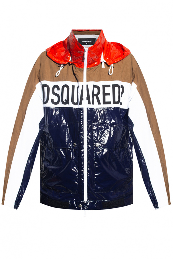 Dsquared2 Jacket with detachable hood