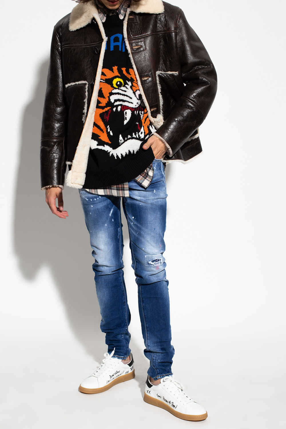 Dsquared2 Shearling jacket