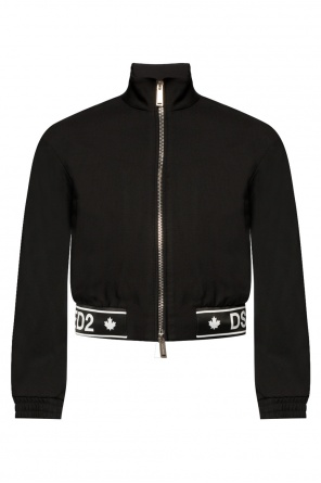 Band collar jacket od Dsquared2