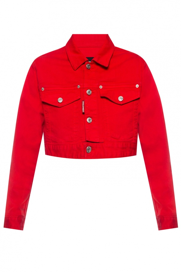 Dsquared2 Printed cropped jacket