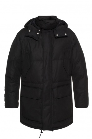 'sergio' hooded quilted jacket od AllSaints