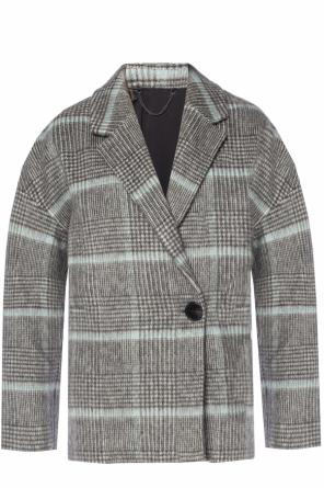 'simi' checked coat od AllSaints