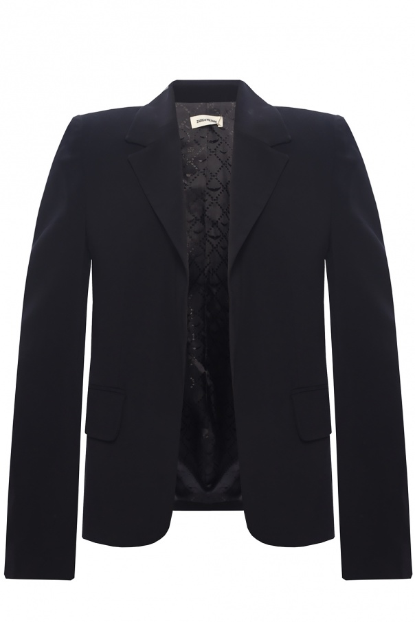 Zadig & Voltaire Blazer with notched lapels