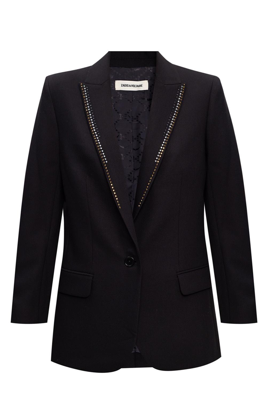 Zadig & Voltaire Appliquéd blazer