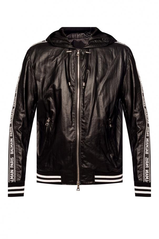 Balmain Hooded jacket with logo