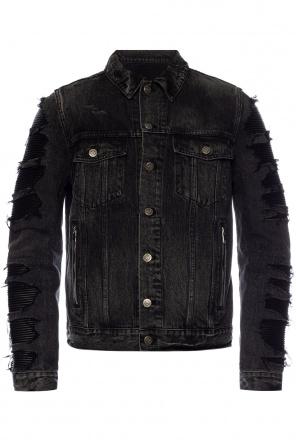 Stonewashed denim jacket od Balmain