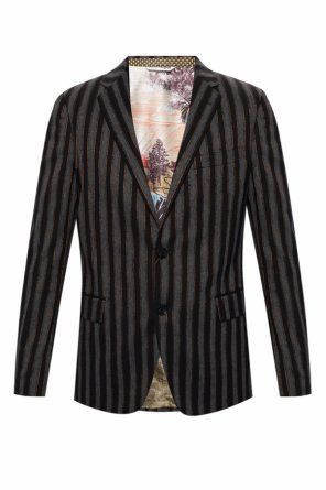 Notch lapel blazer od Etro