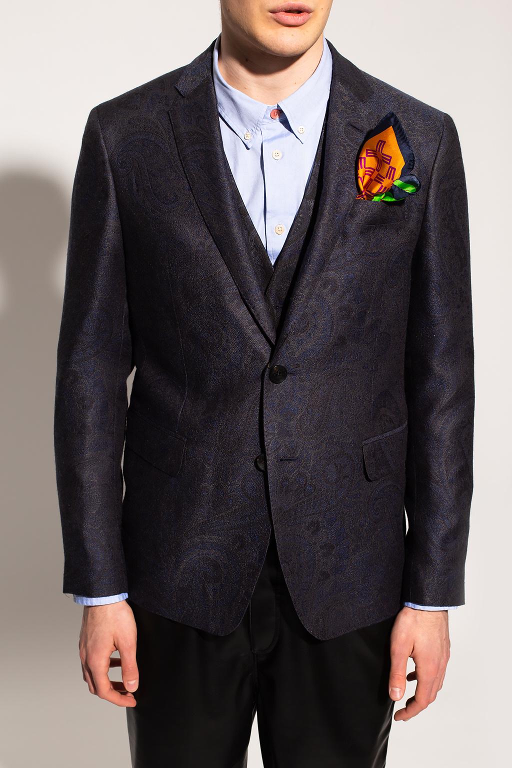 Etro Blazer with notch lapels